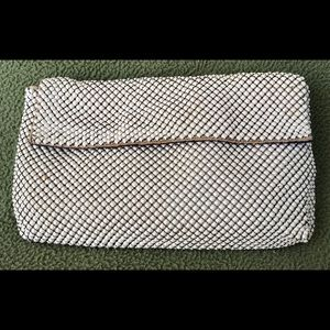 Vintage 1950s WHITING DAVIS Mesh Purse Clutch